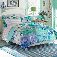 Teen Vogue® Watercolor Garden Comforter Set - Bed Bath & Beyond