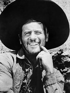 Photographic Print: Eli Wallach, the Magnificent Seven, 1960 : 24x18in