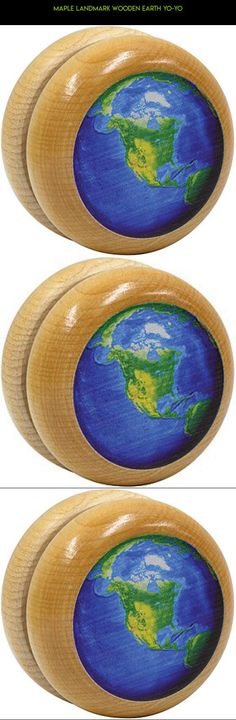 Maple Landmark wooden Earth Yo-Yo #drone #racing #kit #parts #yo-yo #wooden #shopping #tech #plans #camera #gadgets #technology #fpv #products