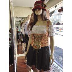 Traje típico com 3 peças - chapéu no lugar da tiara b40ce4fdea6