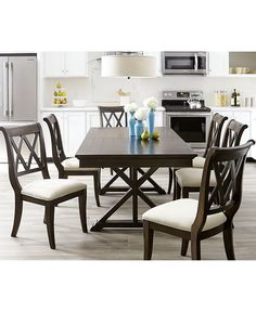 Cortwright 9 Piece Dining Set Expandable Dining Table 6 Side Glamorous 2 Piece Dining Room Set Inspiration Design