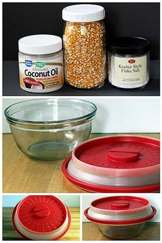 microwave popcorn with coconut oil  + 10 flavor recipes!