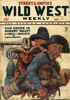 Wild West Weekly cover 1914.