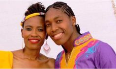 Is Caster Semenya and his wife are pregnant? Mokgadi Caster Semenya Bronze OIB South African famous middle-distance runner and 2016 Olympic gold medallist. Caster Semenya, Fantasy League, Black Couples, New Music, Lesbian, Music Videos, Personality, Baby Boy, Instagram