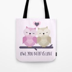 #cute #birds #owl #love #pink