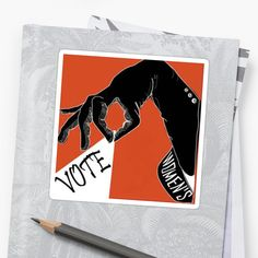Millions of unique designs by independent artists. Find your thing. Vote Sticker, Women Empowerment, Artworks, Finding Yourself, Stickers, Artists, Inspired, Unique, Inspiration
