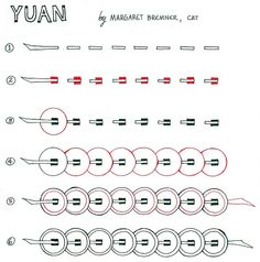 Enthusiastic Artist: YUAN tangle instructions