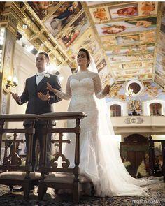 Noiva Karina com Vestido Geraldo Couto Atelier