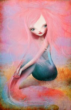 Fine Art Print Daydreamer 8.5x11 or 8x10 A4 Premium by solocosmo, $15.00 Art for her room