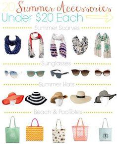 Target Deal: 20 Summer Accessories Under $20