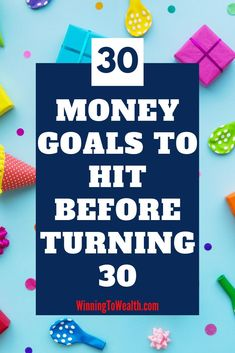 30 Money Goals To Hit Before 30 Looking to get a better handle on your money? Check out this list of money goals you should hit before your birthday. Ways To Save Money, Money Tips, Money Saving Tips, Financial Literacy, Financial Goals, Financial Organization, Financial Planning, Managing Your Money, Budgeting Money