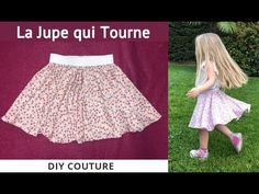 The Skirt That Turns - Tutorial Couture Easy Beginner - sewtut Felt Roses, Blog Couture, Chicago Fashion, Kid Styles, Sewing For Kids, Rock, Sewing Tutorials, Cheer Skirts, Ballet Skirt