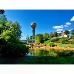 #WorldsFairPark #Knoxville #Tennessee #sunsphere