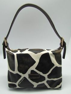 Dooney Bourke Giraffe Leather Mini Shoulder Demi « Clothing Impulse