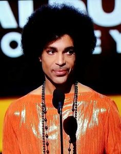 Prince at the 57th annual grammy awards.