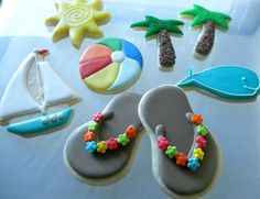 ¡Galletas de inspiración veraniega! Una receta muy chula para hacer con los niños y niñas. #Receta #galletas #reposteria #cocina
