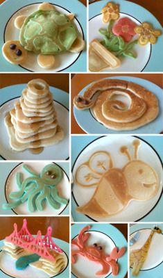 Breakfast fun - pancake divertenti per colazione!
