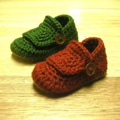 #crochet baby shoes from designer Mamachee