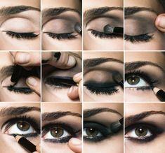 How to get a smokey eye