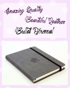 Always wanted to try Bullet Journaling? Start your journaling journey with this stunning Elephant Notebook By Dingbats Notebooks Bullet Journal Stencils, Journal Stickers, Bullet Journal Layout, Planner Stickers, Bullet Journals, Cool Notebooks, Calligraphy Pens, Grey Elephant, Note Paper