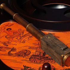 Old Modern Handicrafts Square Handheld Decorative Telescope