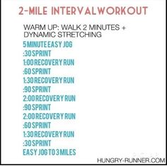 Hiit Interval, Treadmill Workouts, At Home Workouts, Training Workouts, Interval Training Running, Running Intervals, Daily Workouts, Circuit Training, Cardio Workouts