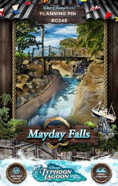 Walt Disney World Planning Pins: Mayday Falls