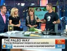 MKR judge Pete Evans joins us in studio to whip up some Parsnip Bolognese.