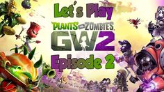 Plants vs Zombies GW2 Local Two Player Co-Op with KenzieMac Episode 2 - FaxFox Gaming