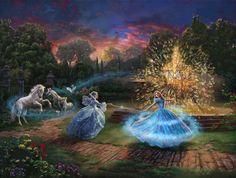 Cinderella Wishes Granted  Cross Stitch Pattern***LOOK***                ~~ I SEND WORLD-WIDE ~~Free