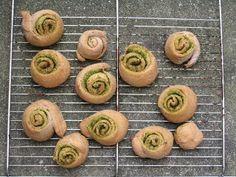 Bergfex's Koch-und Gartenecke: Vollkornschnecken mit Bärlauch