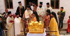 Με λαμπρότητα εορτάστηκε και φέτος η μνήμη των Αγίων Πέντε Νεομαρτύρων Σαμοθράκης την Κυριακή του Θωμά 23 Απριλίου 2017 στη Χώρα Σαμοθράκης. Οι Άγιοι Πέντε Νεομάρτυρες Σαμοθράκης των οποίων τα λείψανα φυλάσσονται στην Εκκλησία της Κοιμήσεως της Θεοτόκου στη Χώρα τιμούνται και εορτάζονται κάθε χρόνο την Κυριακή του ΘωμάΔιαβάστε τη συνέχεια
