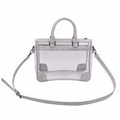 Clear Handbag Tote- Stadium Bag- Clear Purse- Clear Handbags- Clear Bag-  Transparent- Gameday- Stad 060b993216221