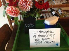 Kirstens vote party