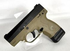 """Beretta Nano Flat Dark Earth 9mm 3.07"""" *NIB*. SPEC0556A. The Beretta Nano micro compact carry pistol utilizes a fully removable, serialized sub-chassis, allowing the Nano pistol do be easily modified with replaceable grip frames and is simple to disassemble and maintain. Ease of use and to draw from conceal, with a low profile, snag-free design. This model has a Flat Dark Earth frame, textured front strap & adjustable 3-dot sights. 6+1 capacity of 9mm. 3.07"""" barrel. 19.97 oz. $399.95"""