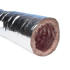 Speedi-Products 6 in. x 12 ft. Insulated Flexible Duct with Metalized Jacket - R8-FD-12R8 06 at The Home Depot