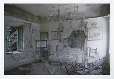 Past Meets Present in Gorgeous Ghostly Photos of Abandoned Buildings - Creators