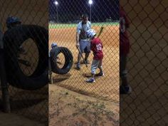 Basketball 7 Year Old Baseball Hitting Drills, Softball Drills, Baseball Field Dimensions, Basketball Training Equipment, Batting Tee, Basketball Uniforms, Kids Sports, Baseball Cards, Cage