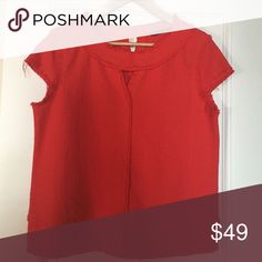 Red Top from Zara Nice&cute top to wear with a pair of jeans or s skirt... Zara Tops