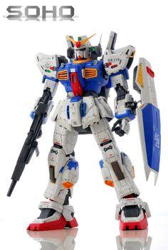 GUNDAM GUY: PG 1/60 Gundam Mk-II (AEUG) - Customized Build