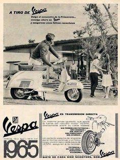 Piaggio Vespa, Lambretta Scooter, Vespa Scooters, Vintage Advertisements, Vintage Ads, Vintage Posters, Vintage Vespa, Vintage Italy, Retro Scooter