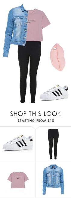"""Untitled #53"" by victoriajassan ❤ liked on Polyvore featuring adidas, Miss Selfridge and STELLA McCARTNEY"