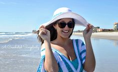I designed the Beach Day Sunhat to coordinate with Maria's Beach Day Cover-Up(Click Here for pattern) for the Mother's Day CAL. This is the 4th pattern in the series. You can find all of the information about the CAL, and the patterns,HERE. My favorite sunhats have wide, slightly wavy brims so I designed this hat...Read More