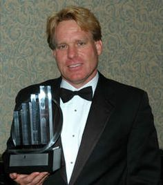 Stream Energy chairman Rob Snyder with the 2008 Ernst & Young Entrepreneur of the Year award for the Southwest region...