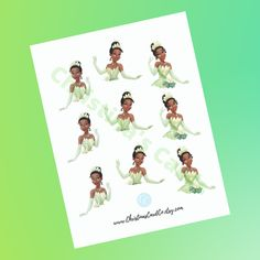 Disney Princess Cupcakes, Princess Cupcake Toppers, Tangled Princess, Disney Princess Tiana, Princess Merida, Cartoon Network Adventure Time, Adventure Time Anime, Frog Cupcakes, Disney Party Decorations