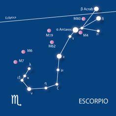 12 constelaciones para localizar a simple vista en el cielo nocturno: Escorpio