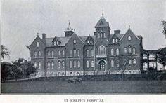 Circa 1910 ~ St. Joseph's Hospital
