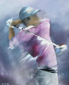 golf painting art & golf painting _ golf painting canvas _ golf painting easy _ golf painting acrylic _ golf painting ideas _ golf paintings on canvas _ golf painting canvas acrylics _ golf painting art Golf Painting, Sports Painting, Painting Canvas, Golf Sport, L Eucalyptus, Golf Images, Golf Theme, A Level Art, Birthday Cards For Men