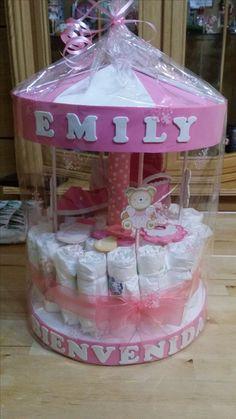 Carrusel de pañales D'autres jouets pour bebe => http://amzn.to/2nK8lcv http://amzn.to/2nK8lcv (Jouet Pour)