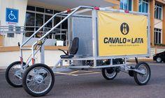 Projeto substitui cavalos de verdade por veículo sustentável feito de lata - por Jaque_Barbosa | hypeness